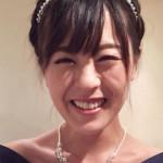 大きなリボンがキュート♡/かなぽんさん 【結婚式二次会 服装コーディネート】