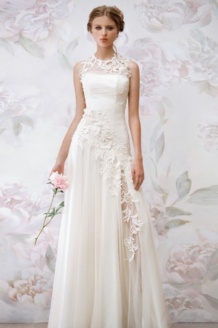 a-line-jewel-floor-length-champagne-chiffon-wedding-dress-b14p2a042-a