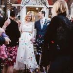 結婚式二次会はカジュアルに!「かわいい!」の声間違いなしのウェディングドレス16選