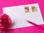 結婚式二次会の案内状に貼る切手の選び方