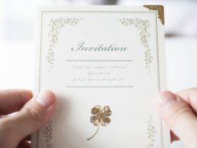 結婚式の二次会に使える、招待状・案内メールの文面(テンプレート)!